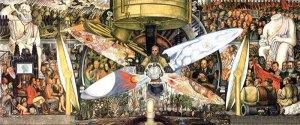 El hombre en una encrucijada - Diego Rivera